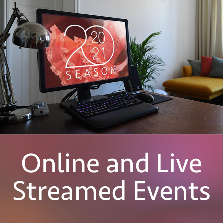 Online and Live Streamed Events