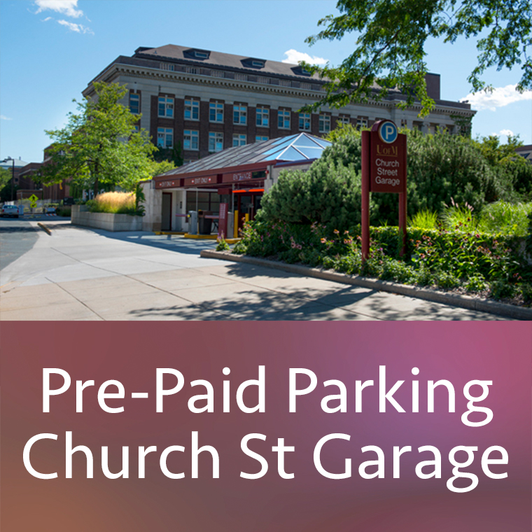 Pre-Paid Parking Church St Garage
